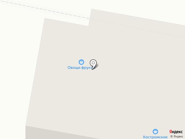 Клубочек на карте Ярославля