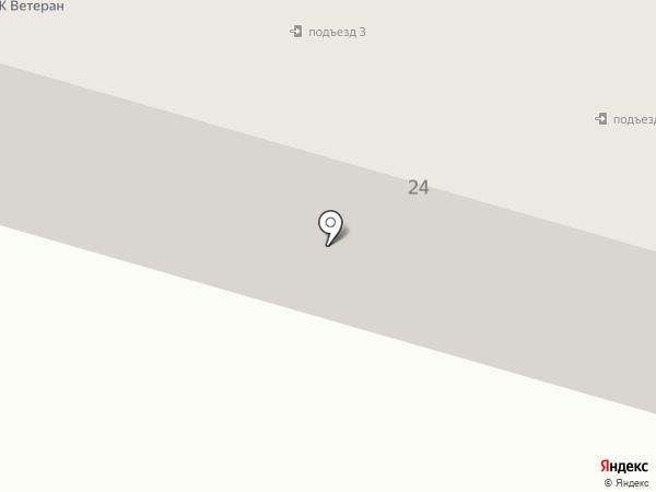 Ветеран на карте Аксая