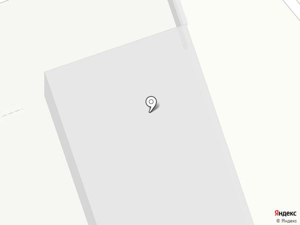 Северодвинская ТЭЦ №1 на карте Северодвинска