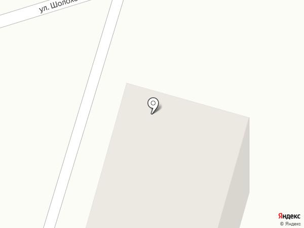 Стоматологическая поликлиника на карте Аксая