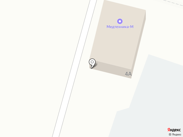 МЕДТЕХНИКА-М на карте Аксая