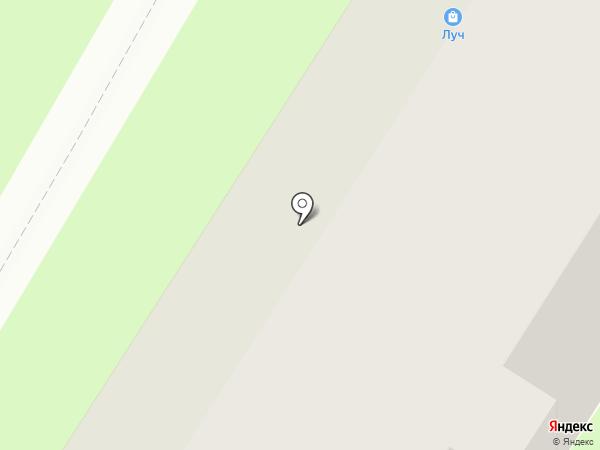 Метро на карте Ярославля