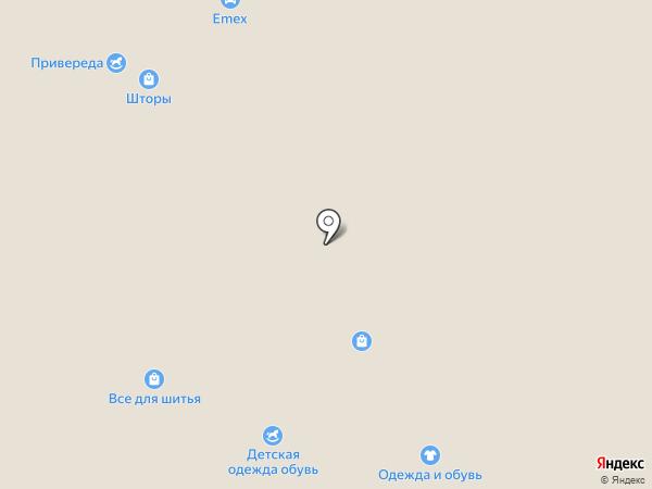 Правильные ножки на карте Вологды