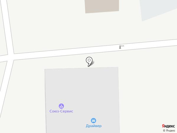 Линейные сети на карте Аксая