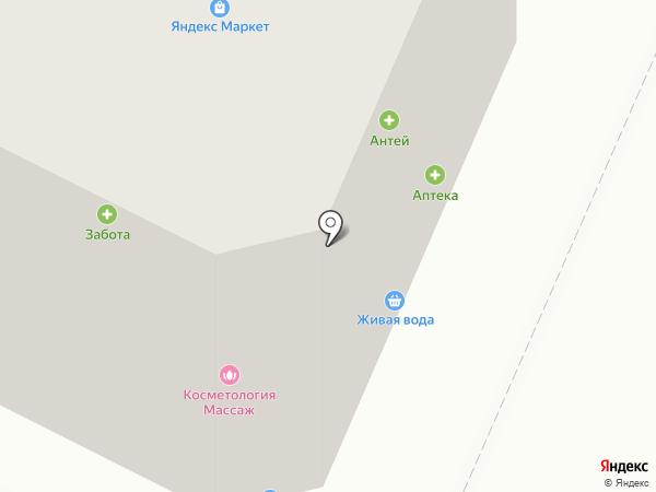 Эвидент на карте Вологды