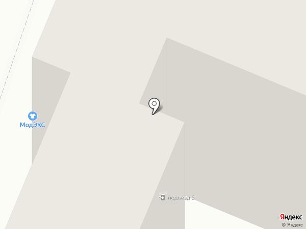 Модэкс на карте Аксая