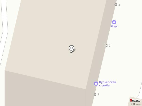 ЯрБытАрсенал на карте Ярославля