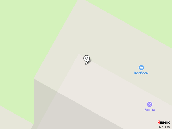 Анита на карте Вологды