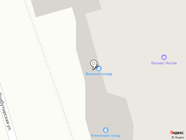 Импульс Нефтестрой на карте Ярославля