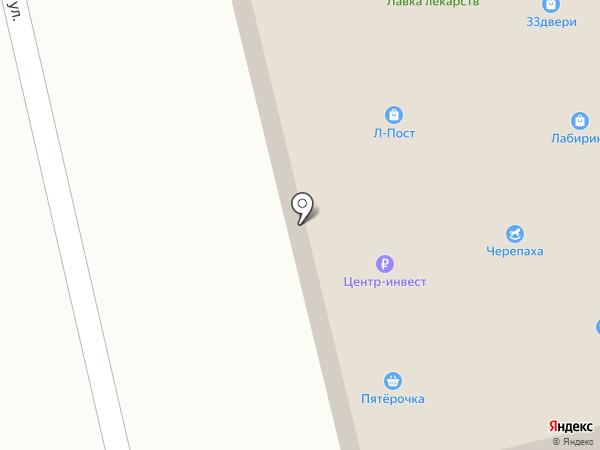 Банкомат, Банк Петрокоммерц на карте Аксая