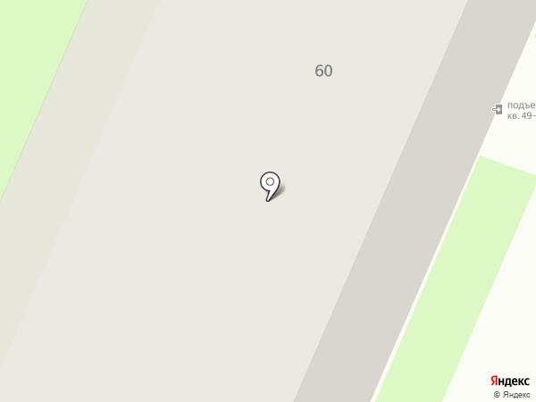 Токарная мастерская на карте Вологды