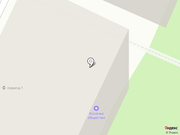 Казачья Стража на карте Вологды