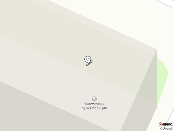 Участковый пункт полиции на карте Вологды