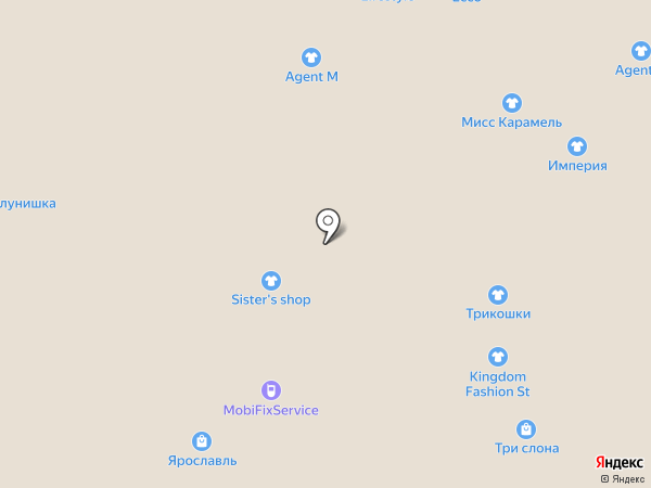 Алмаз на карте Ярославля