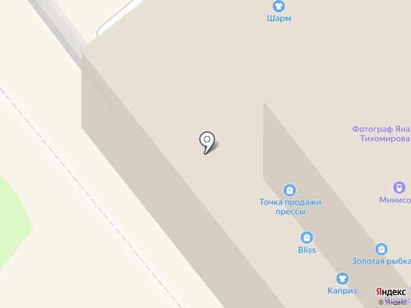 Пани Ивонна на карте Ярославля