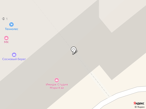 Игнатьевский парк на карте Вологды