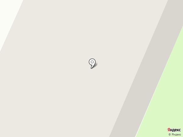 Строитель на карте Вологды