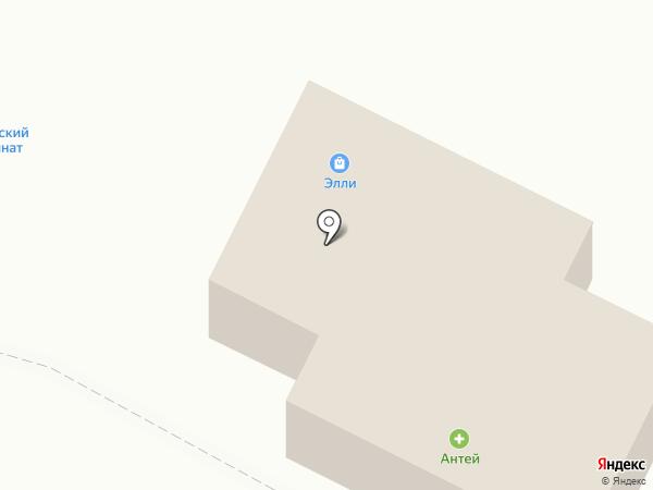 Антей на карте Вологды