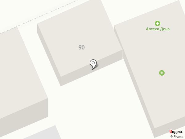 Аптека №24 на карте Аксая