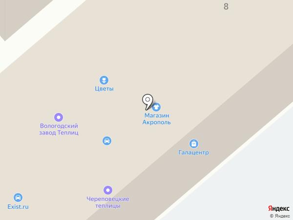Новые двери на карте Вологды