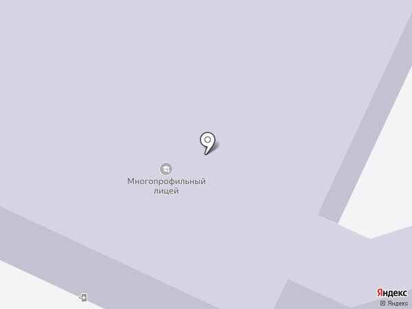 Вологодский многопрофильный лицей на карте Вологды