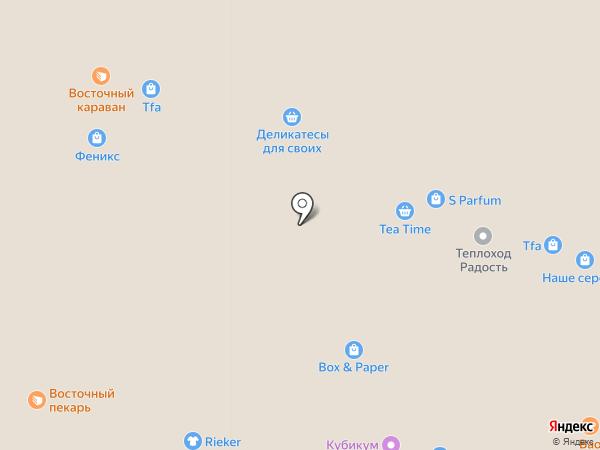 Ригла на карте Ярославля