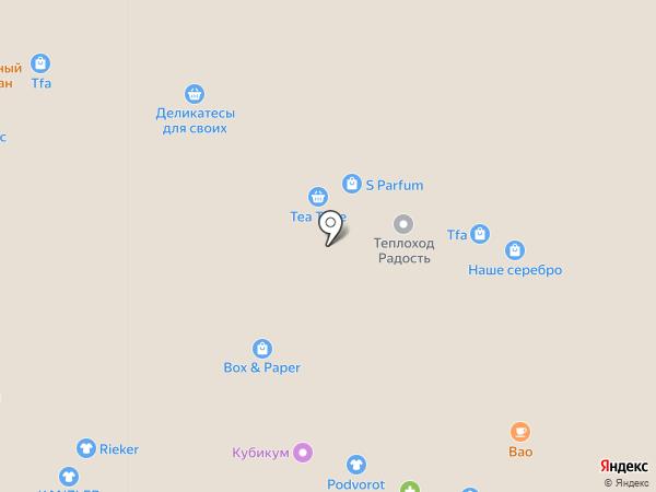Proficare на карте Ярославля