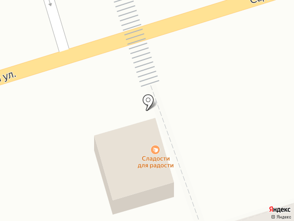 Вектор на карте Аксая