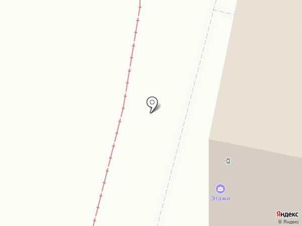 Яркольцо на карте Ярославля