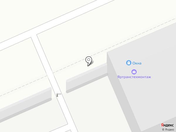 Чистый пластик на карте Ярославля
