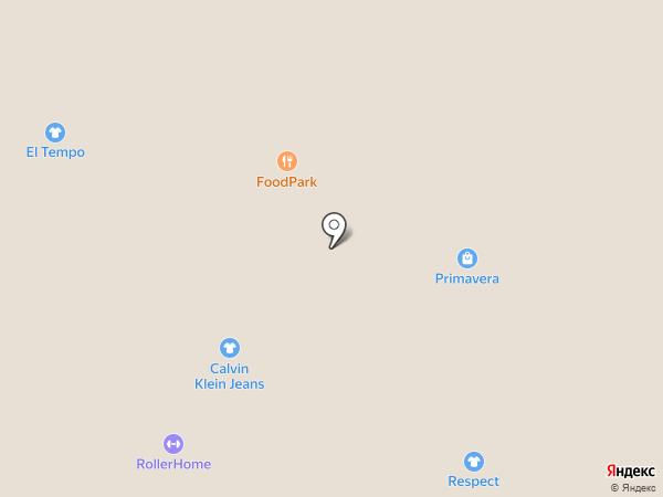 Benetton на карте Ярославля