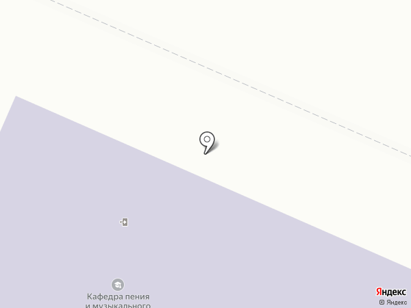 Вологодский государственный университет на карте Вологды