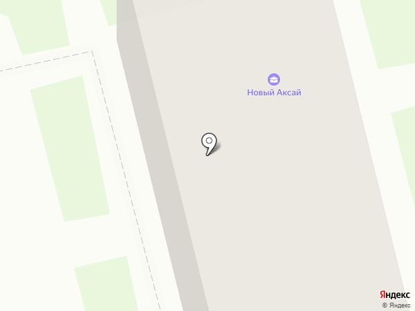 Новый Аксай на карте Аксая
