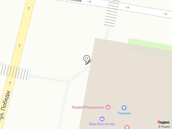 ПАНИНИ на карте Ярославля