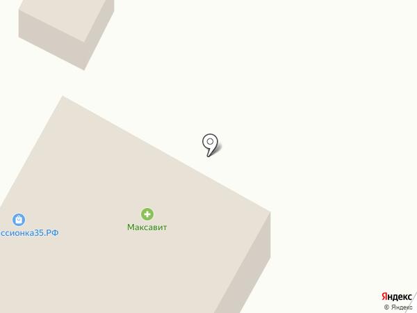 Универсальный магазин на карте Вологды