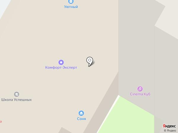 Мебель-Сервис на карте Вологды