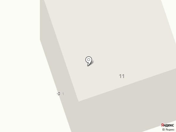 Южное на карте Аксая
