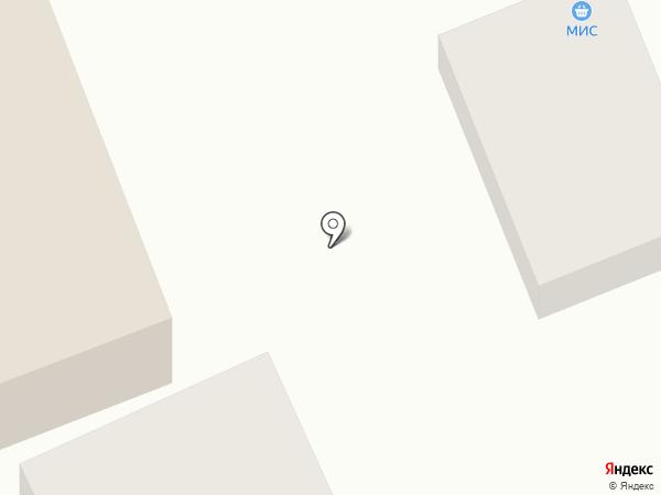 Мис на карте Аксая