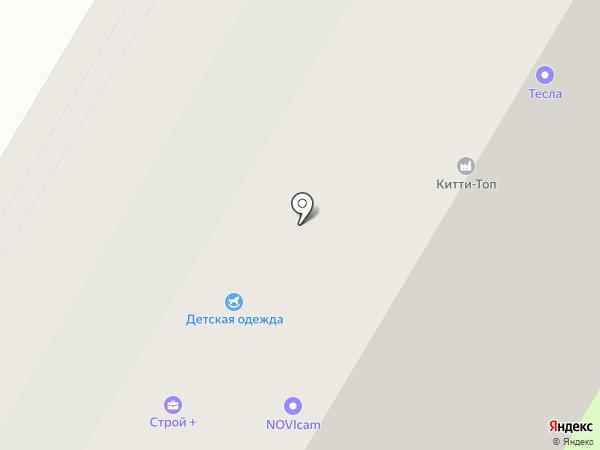 Микс на карте Вологды