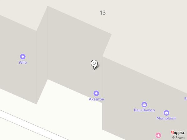 Алро на карте Вологды