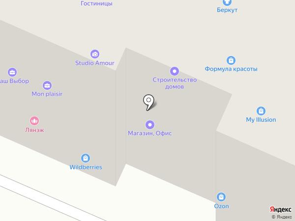 Ева на карте Вологды