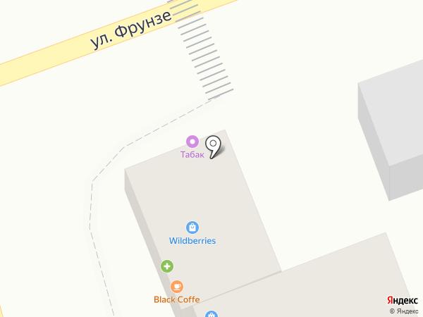 Орхидея на карте Аксая