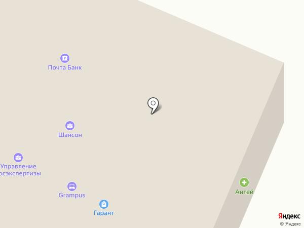 АВТОКАРД на карте Вологды