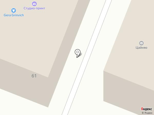 Идея на карте Вологды