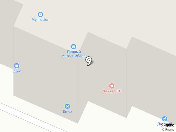 Первая Стекольная Компания на карте Вологды