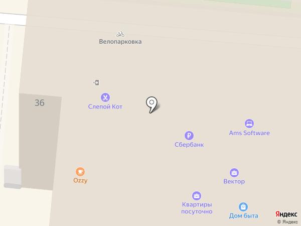 Ирбис на карте Ярославля