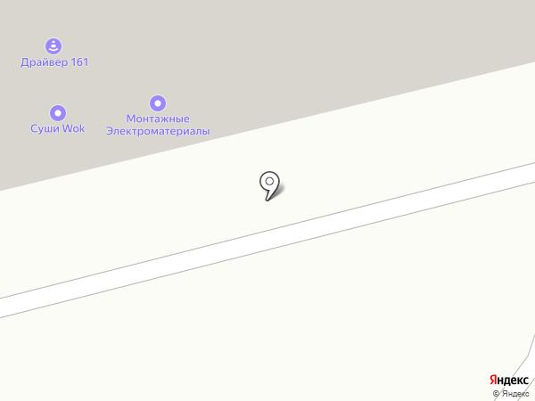 Рокада на карте Аксая