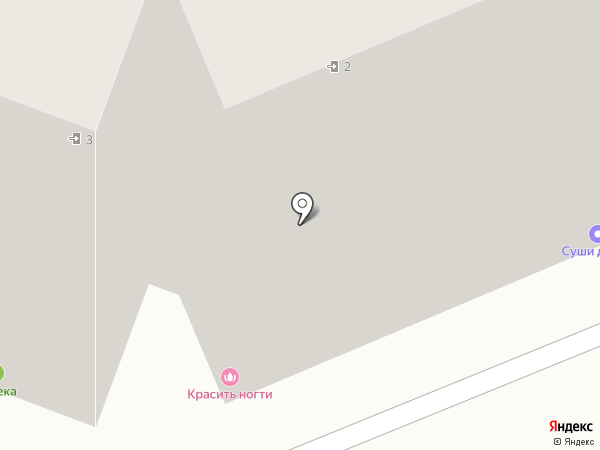 Станция напитков на карте Аксая