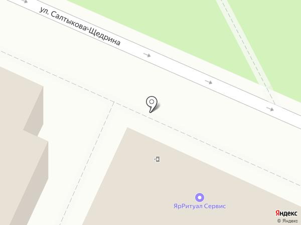 ЯрРитуалСервис на карте Ярославля