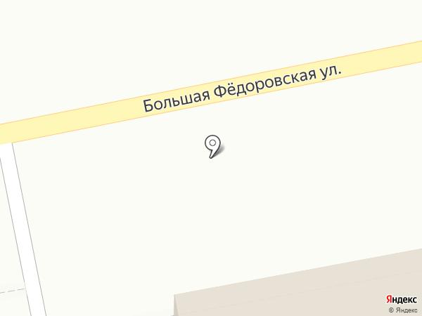 Делюкс на карте Ярославля